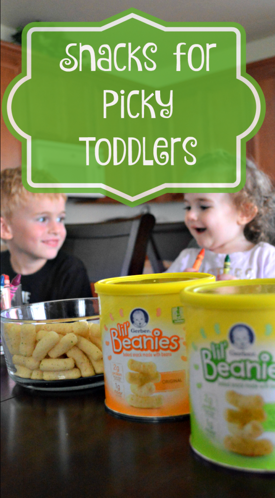 4 snacks for picky toddlers