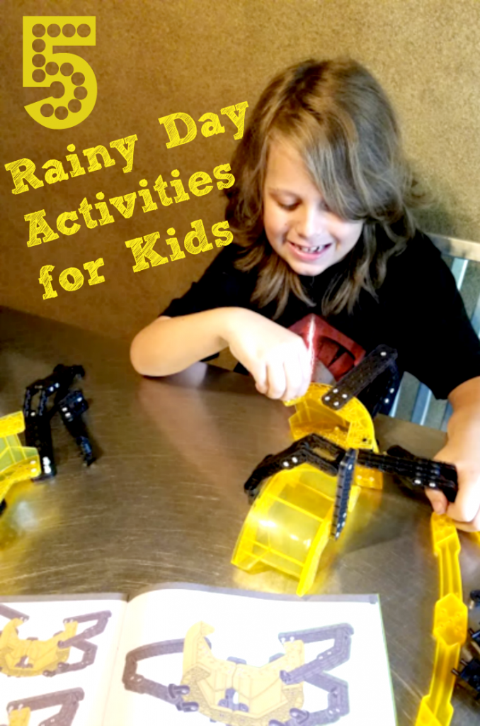 rainy day activities for kids pin